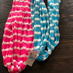 Justice Accessories - 3 New w/tags Justice/ Claire scarfs